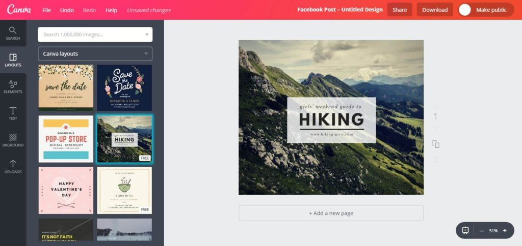 free social media tools - Canva